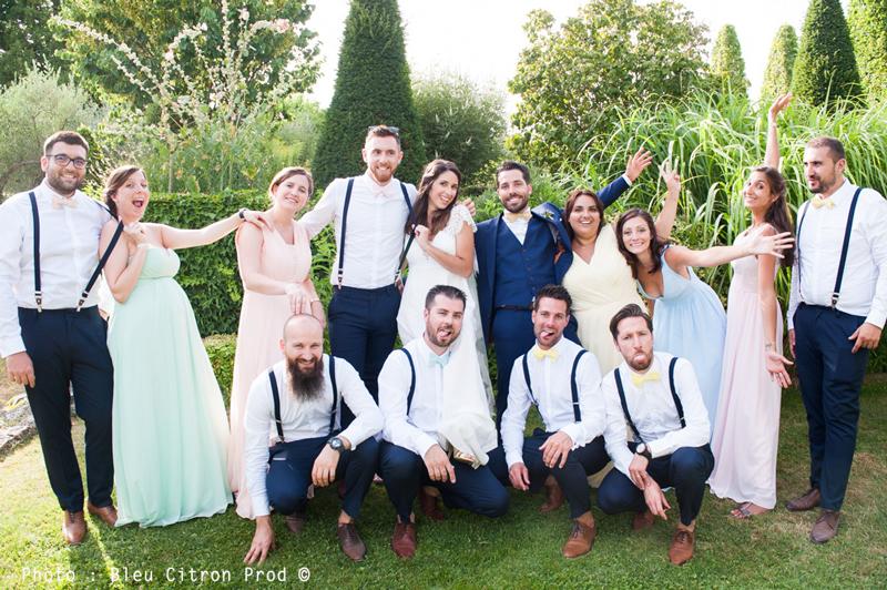 Thème Pastel mariage Le Coq en Pap'