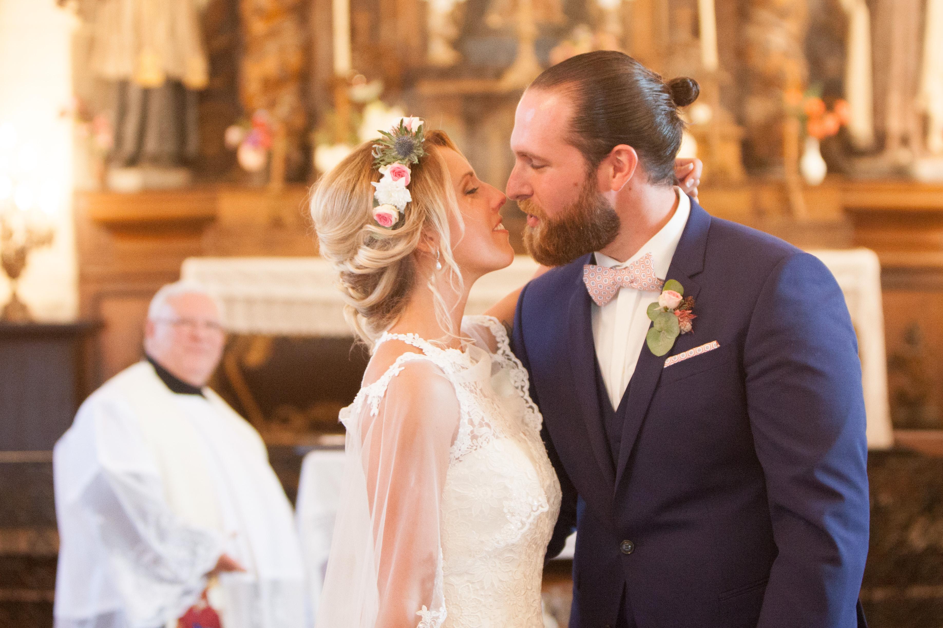 mariage église noeud pap le coq en pap