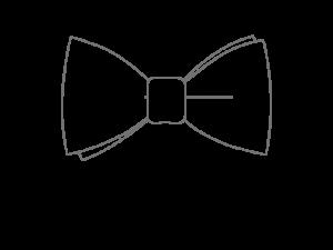 Le Coq en Pap' - Noeud papillon Tissus au choix