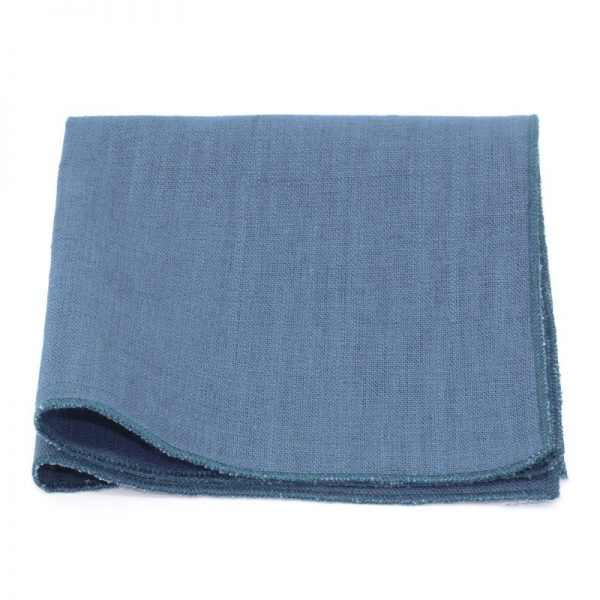 Le Coq en Pap' - Lin uni Bleu Stone - Pochette