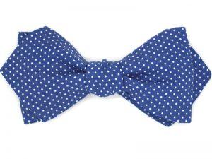 e10bc63e5795e Le Coq en Pap' - Noeud papillon bleu marine à ...