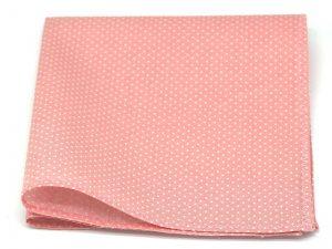 Le Coq en Pap' - Pochette de costume rose dragée à pois