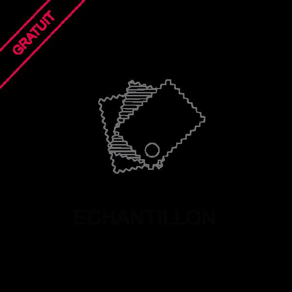 Le Coq en Pap' - Echantillon de tissu