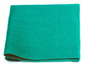 Le Coq en Pap' - Pochette de costume vert sapin en lin