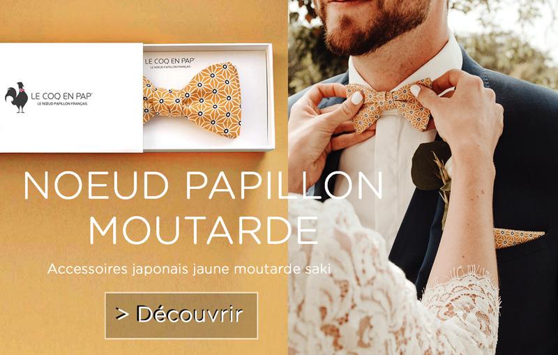 Noeud papillon homme mariage fabrication sur mesure marie temoins et enfants d honneur le coq en pap made in france wedding mobile