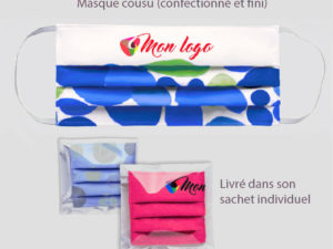 Le Coq en Pap' - Masques imprimés all over - de 500 à 5000pcs LIVRAISON OFFERTE