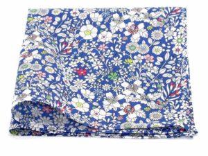 Le Coq en Pap' - Pochette de costume fleuri liberty june's meadow a